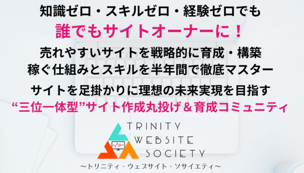 Trinity Website Societyで稼げるサイトは作れるのか?